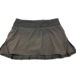 Lululemon Pace Setter Skirt - Black Size 4